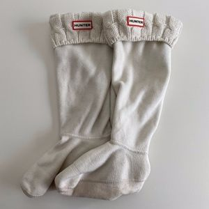 Hunter Original 6-Stitch Cable Tall Boot Socks